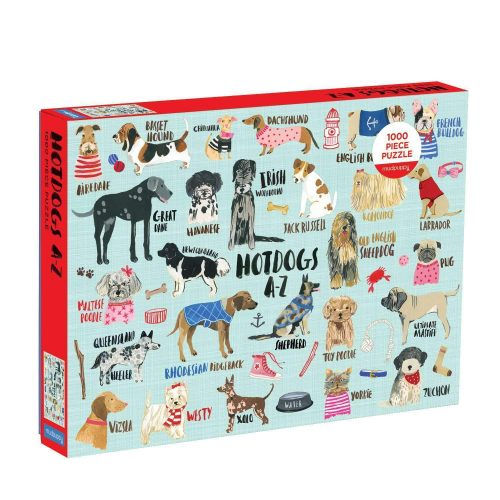 HOT DOGS A-Z 1000 Piece Jigsaw Puzzle