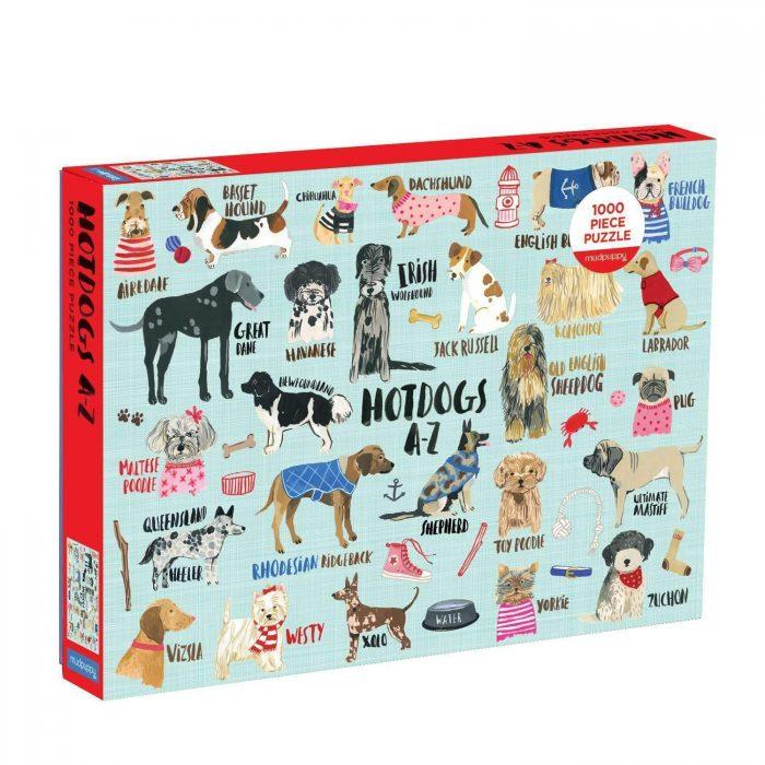 HOT DOGS A-Z 1000 Piece Jigsaw Puzzle