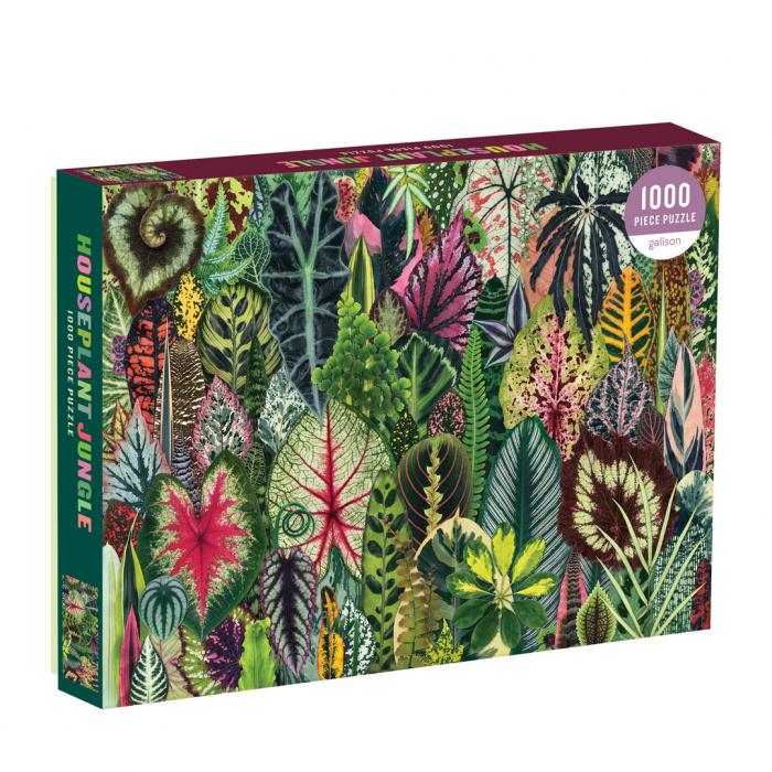 Houseplant Jungle 1000 Piece Jigsaw Puzzle