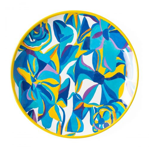 Juliska Blue Rose Melamine Dinner Plate