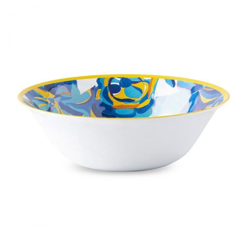 Juliska Blue Rose Melamine Serving Bowl
