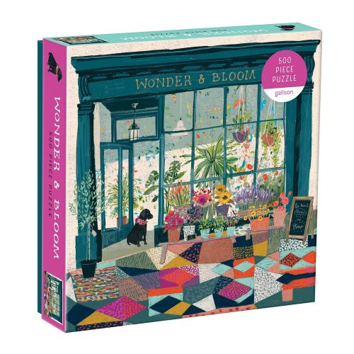 WONDER & BLOOM 500 Piece Jigsaw Puzzle