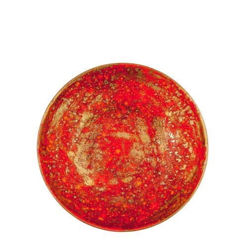 SCIPIONE RED SOUP PLATE
