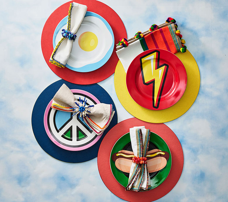 Kim Seybert Napkins and Napkin Rings and Placemats