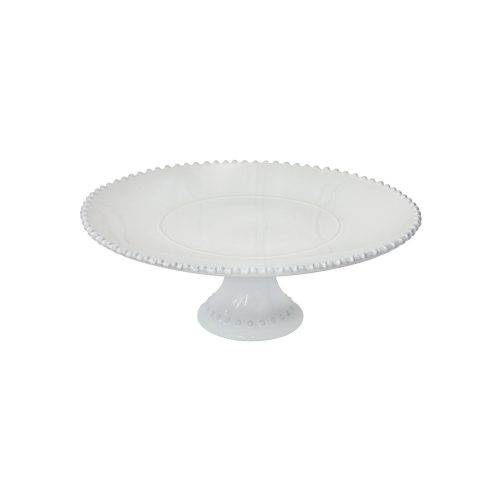"Costa Nova Pearl 15"" Footed Plate"