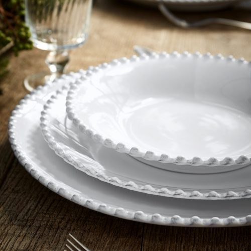Costa Nova Pearl Soup Pasta Plate