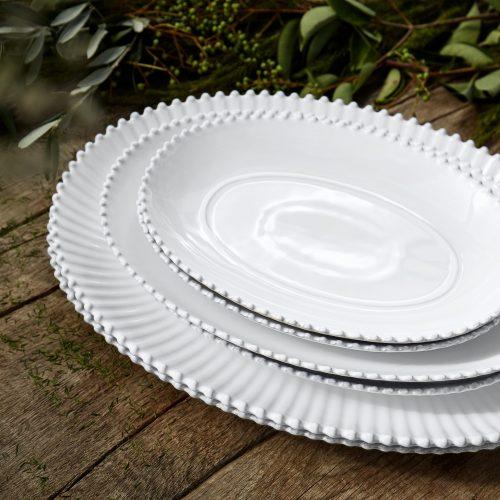 "Costa Nova Pearl 13"" Oval Platter"