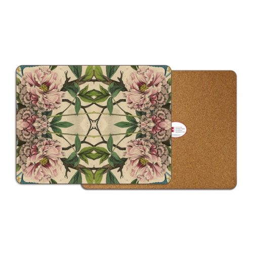 Peonies Rectangle Placemat