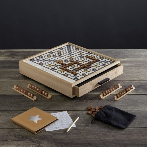Scrabble Maple Luxe Edition