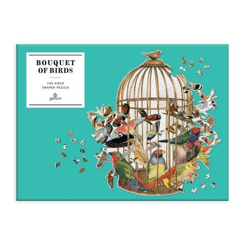 Bouquet of Birds 750 Piece Jigsaw Puzzle