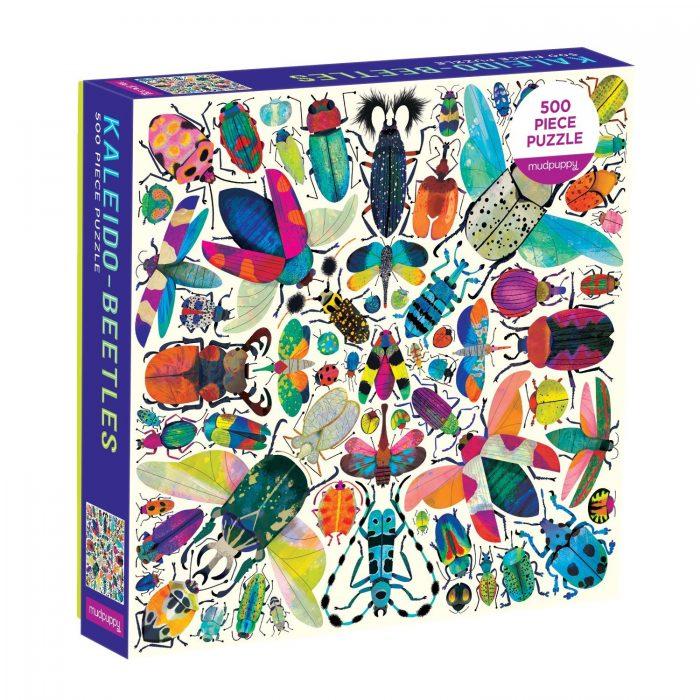 Kaleido Beetles 500 Piece Jigsaw Puzzle