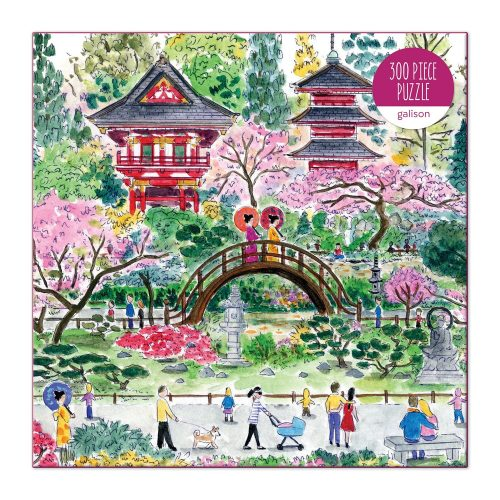 Michael Storrings Japanese Tea Garden 300 Piece Jigsaw Puzzle