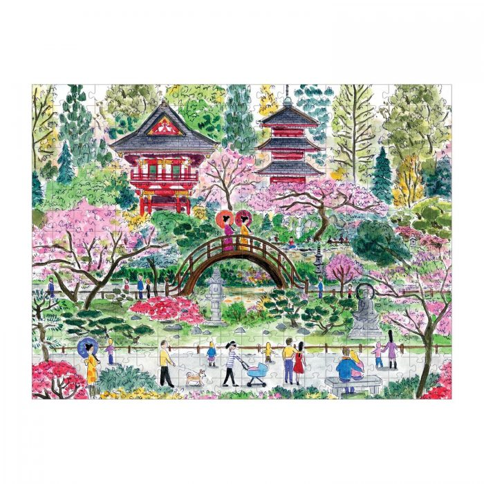 Michael Storrings Japanese Tea Garden 300 Piece Jigsaw Puzzle