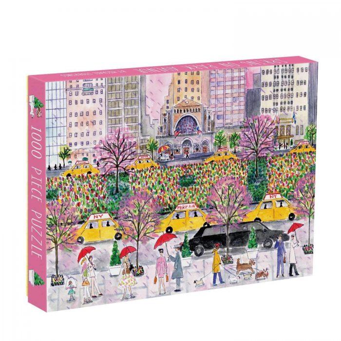 Michael Storrings Spring on Park Avenue 1000 Piece Jigsaw Puzzle