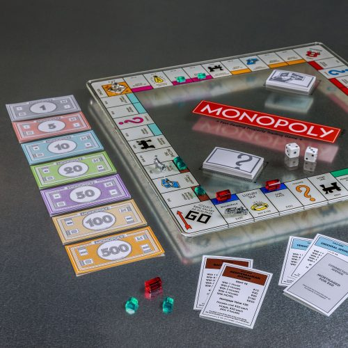 Monopoly Glass Edition