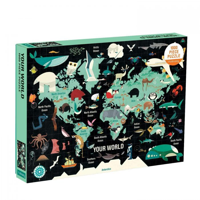 Your World 1000 Piece Jigsaw Puzzle