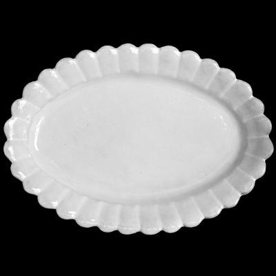 Astier De Villatte Marguerite Large Deep Oval Platter