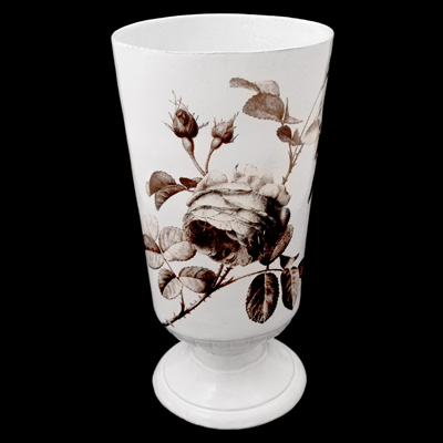 Astier De Villatte John Derian Sepia Rose Vase