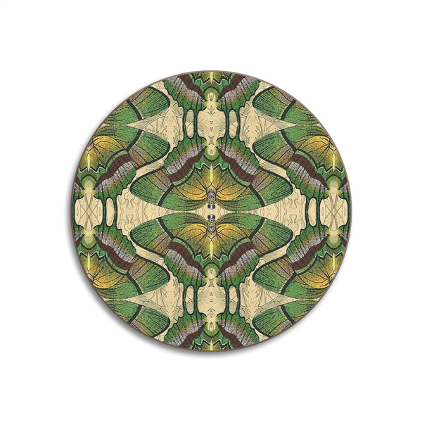 Butterfly Round Coasters - Set of 4