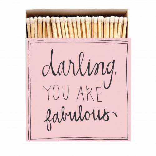 Luxury Matchbooks - Darling