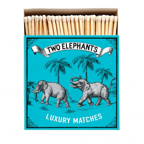 Luxury Matchbooks - Two Elephants