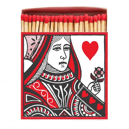 Luxury Matchbooks - Queen of Hearts