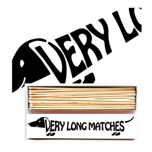 Luxury Matchbooks Long - Very Long Matches Dachshund