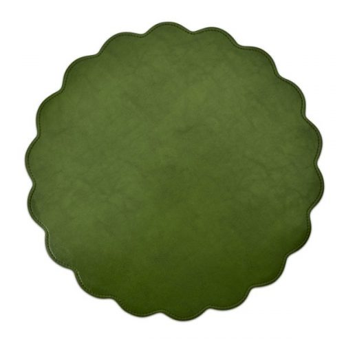 Classic Faux Leather Placemat Avocado