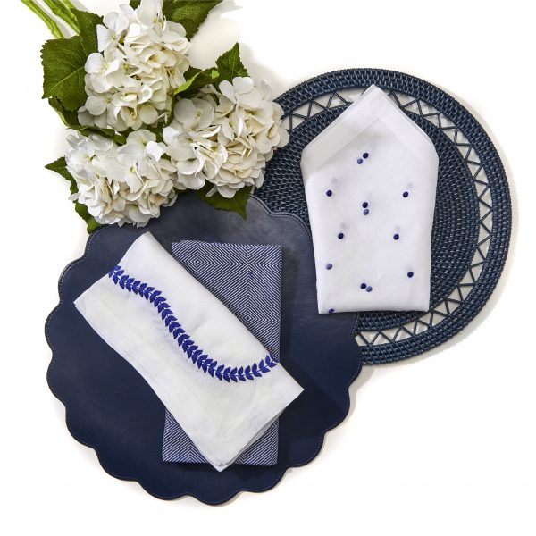 Classic Faux Leather Placemat - Set of 2