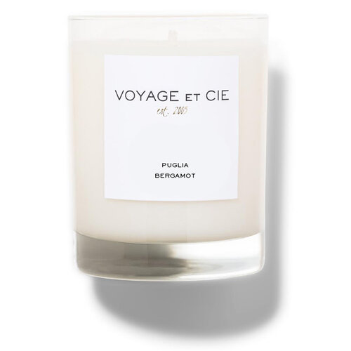 Voyage et Cie Puglia Bergamot Candle 14oz