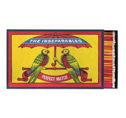Luxury Matchbooks Giant - The Inseparables