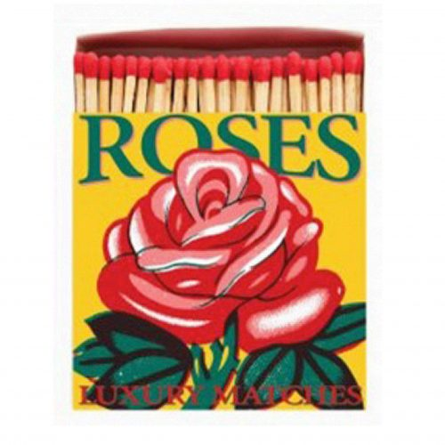 Luxury Matchbooks - Red Rose
