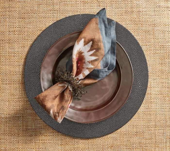 Foliage In Beige, Taupe & Gray Napkin - Set of 2