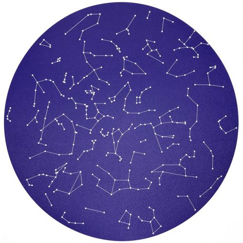Nicolette Mayer-Constellations Stars Round Placemat - Set of 2