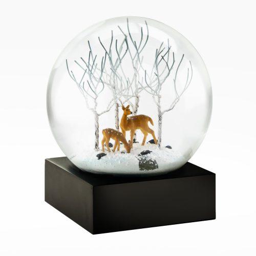 Snow Globes-Deer in Woods