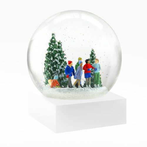 Snow Globes-Ice Skaters