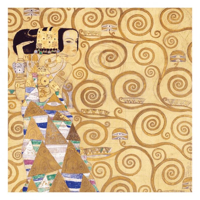 Klimt Expectation 500 Piece Puzzle