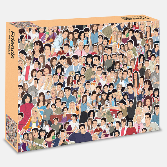 Friends 500 Piece Puzzle