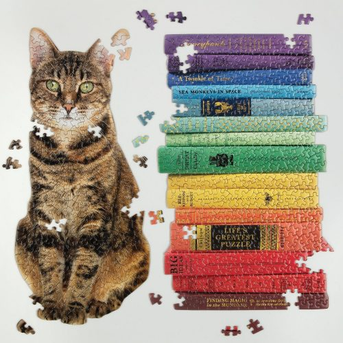 Queen of the Stacks Set of Two Jigsaw Puzzle Set - 650 Piece