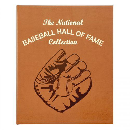 National Baseball Hall of Fame Genuine Leather