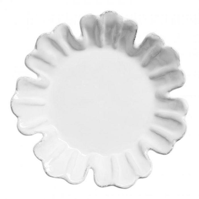 Astier De Villatte Small Chou Plate with 7 Petals