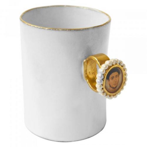 Fayum Gentleman Portrait Ring Cup