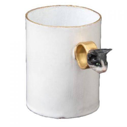 Astier De Villatte Serena Cat Ring Cup