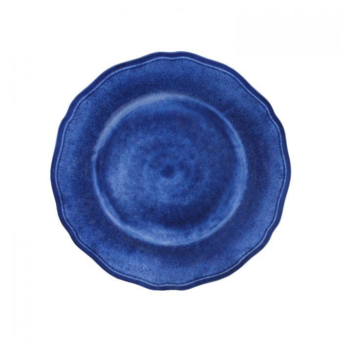 """Le Cadeaux Melamine Campania Blue 9"""" Salad Plate - Set of 2"""