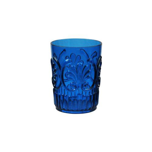 Le Cadeaux Blue Fleur Small Tumbler16oz