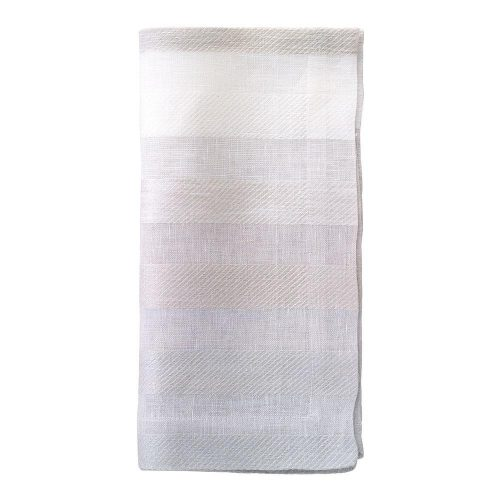 Gradient Stripe Celadon Napkin - Set of 2
