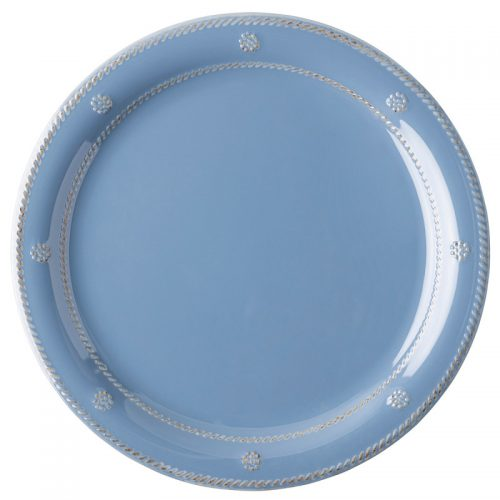 Berry & Thread Chambray Melamine Dinner Plate - Set of 2
