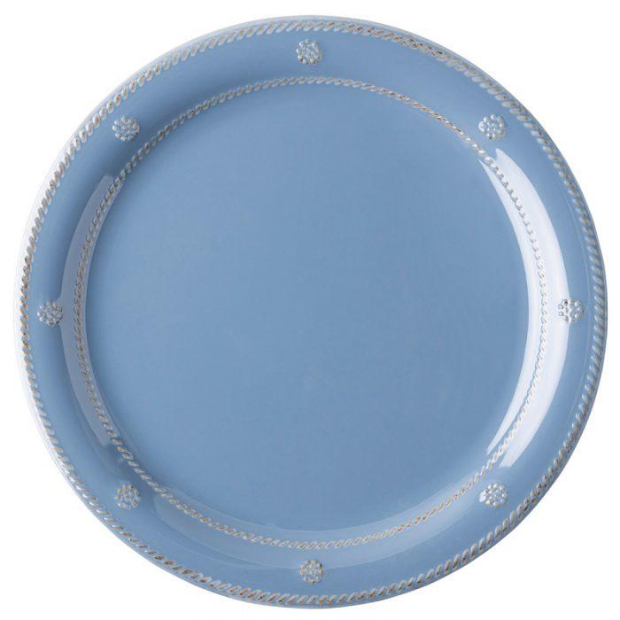 Berry & Thread Chambray Melamine Dinner Plate - Set of 2