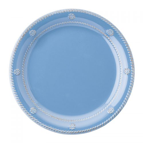 Berry & Thread Chambray Melamine Dessert/Salad Plate - Set of 2
