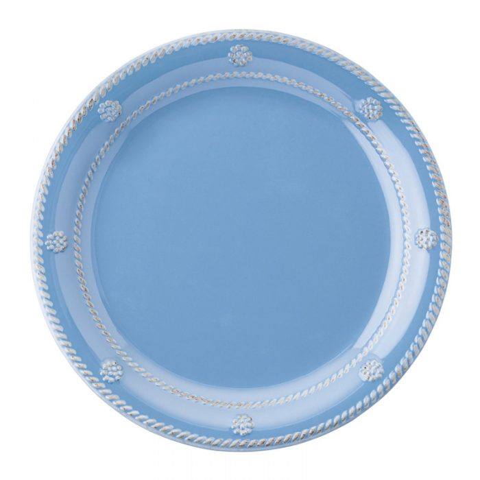 Berry & Thread Chambray Melamine Dessert/Salad Plate - Set of 2